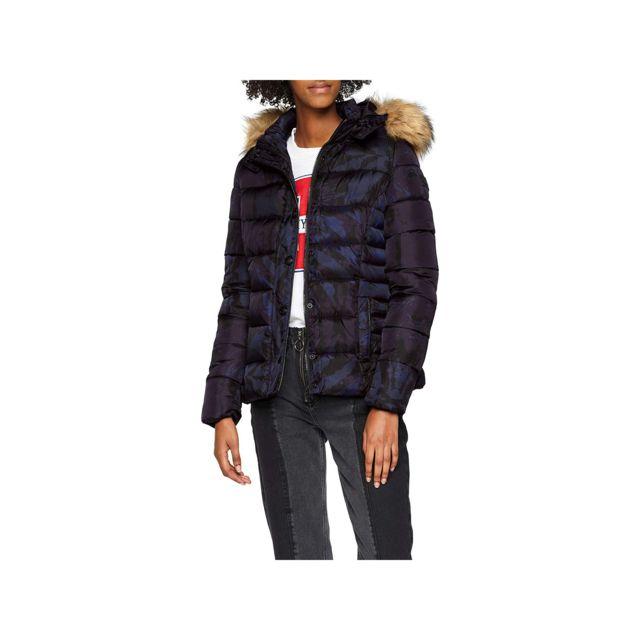 emballage élégant et robuste prix d'usine nouveau sommet Kaporal Gazel Manteau Femme Bleu Marine - Taille - Xs
