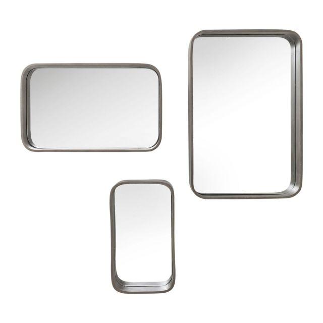 Karedesign Miroirs Pfiff set de 3 Kare Design