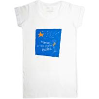 Rigolobo - Tee-Shirt-Tunique pour Maman 'Maman, je t'aime jusqu'aux étoiles