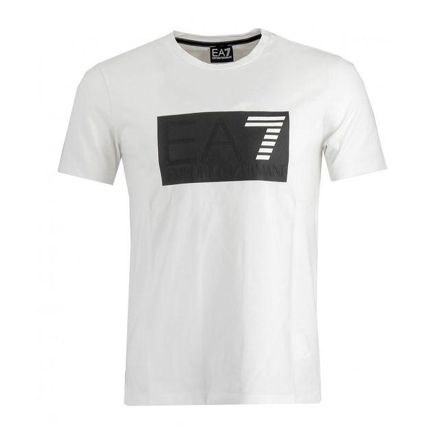 Ea7 Emporio Armani - Tee-shirt - 6XPT94-PJ20Z-1100 - pas cher Achat   Vente Tee  shirt homme - RueDuCommerce 03717084c47