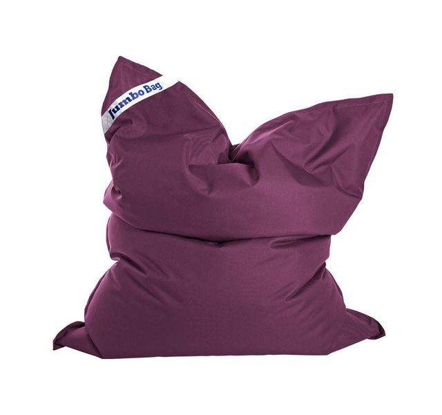 Jumbo Bag Pouf en polyester imperméable violet 130x170 cm The Original