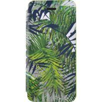 Christianlacroix - Etui folio Eden Roc Pin Parasol de Christian Lacroix pour iPhone 5/5S