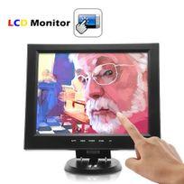 Shopinnov - Moniteur ecran tactile 12 pouces Lcd