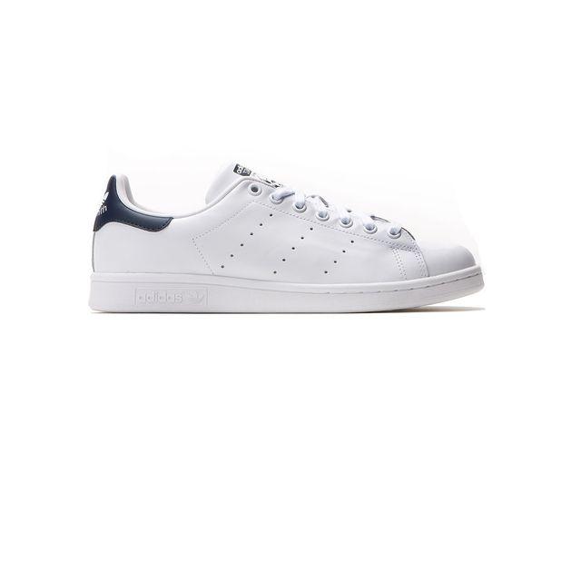 84dd92089 Adidas - Chaussures Stan Smith Blanc/Bleu e17 - Originals - pas cher ...