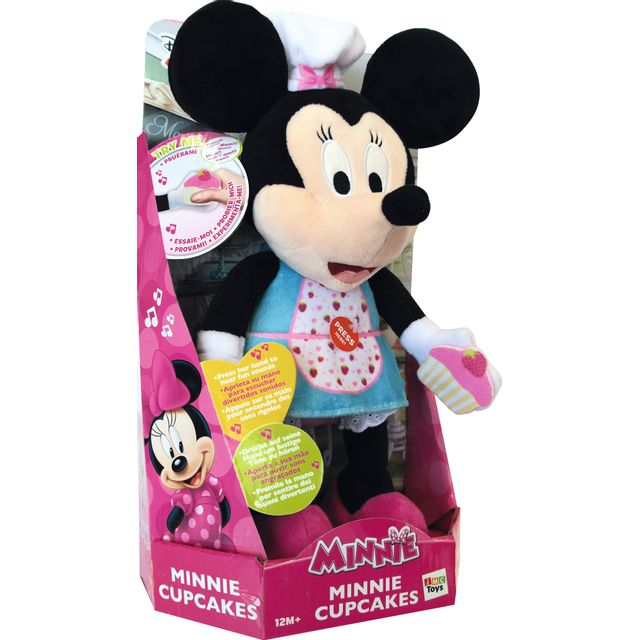 Disney - Minnie - Peluche Minnie Pâtissière - 182035
