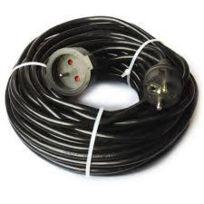 Hobby Concept - Hobby Tech - Ec25 - Rallonge électrique 25 mètres - noire - 3G - 1,5 mm Cat. H05VV-F - 16 Amp