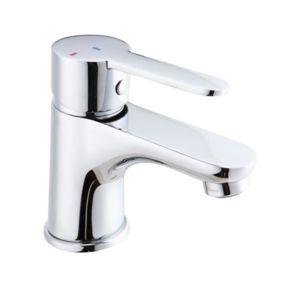 Soldes essebagno mitigeur de lavabo chrome robinet avec vidage cartouche c ramique conomique - Robinet thermostatique connecte ...