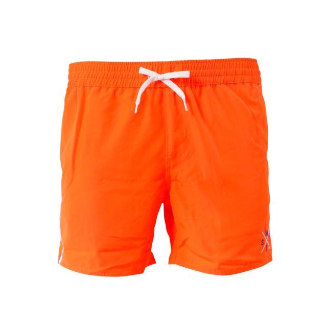 Watts - Short de bain Homme Kites Orange Fluo - pas cher Achat   Vente Short 6a079097620