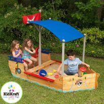 KIDKRAFT - Bac à sable bateau enfant