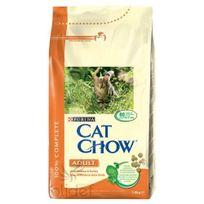 Pro Plan Chat - Cat Chow Poulet et Dinde Croquettes pour Chats Adultes Pack de 3 Kg