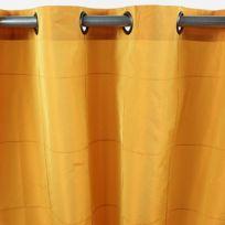Mon Beau Tapis - Rideau William 150x250cm, Jaune • Taffetas polyester