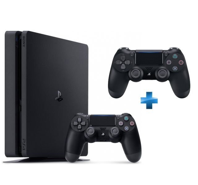 SONY - PS4 500Go Chassis D NR SLIM + Dual Shock 4 - V2 - NOIRE - PS4