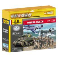 Heller - Maquettes 2ème guerre mondiale : Coffret 70ème anniversaire du débarquement Omaha Beach