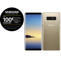 Samsung - Galaxy Note 8 - Or Topaze