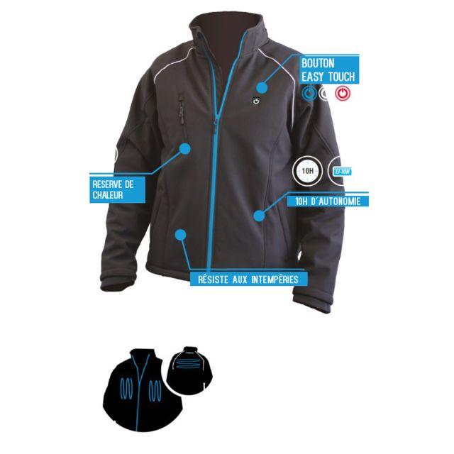 M Pas 2 Scell It Chauffante 6ah 12v Veste Vest wqgYO8