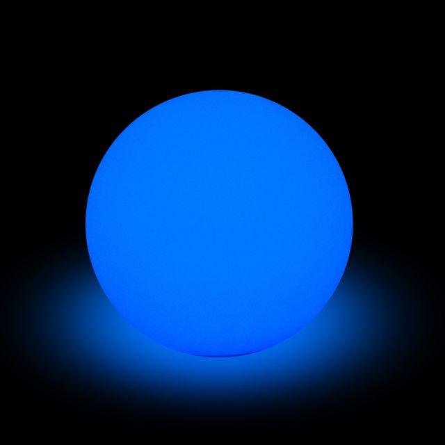 L3C Cdaffaires lampe solaire boule pe 8 led multicolore ø40cm