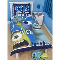 Monsters U - Parure de lit Monstres Academy pnl