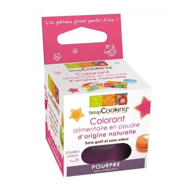 Scrapcooking Colorant alimentaire Pourpre