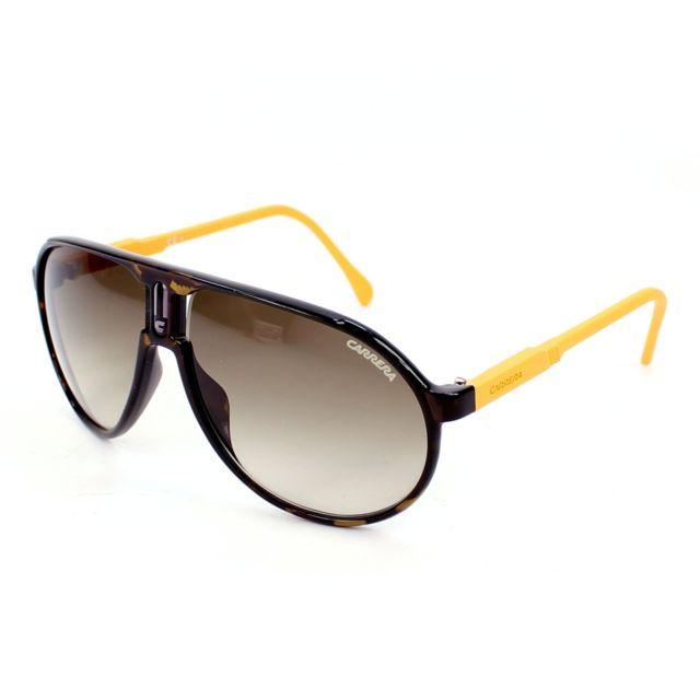 Carrera - Champion-Rubber D2I CC Orange - havane - Lunettes de soleil - pas  cher Achat   Vente Lunettes Tendance - RueDuCommerce 197cb26739ad