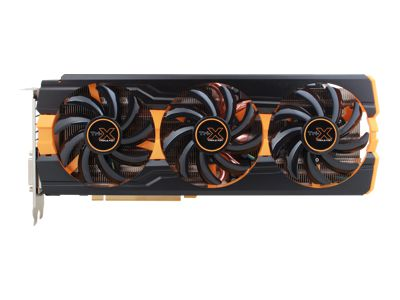 Radeon R9 290X Tri-X Oc UEFI New Edition - carte graphique - Radeon R9 290X - 4 Go Gddr5 - Pci Express 3.0 x16 - 2 x Dvi, Hdmi, DisplayPort - version allégée