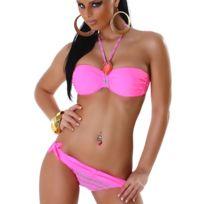 Cendriyon - Joli Bikini Rose Bonbon Pamina