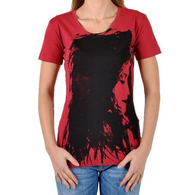 a3e14df4b846b Diesel - T-shirt Tulax 40Z Rouge Rose - pas cher Achat   Vente Tee ...