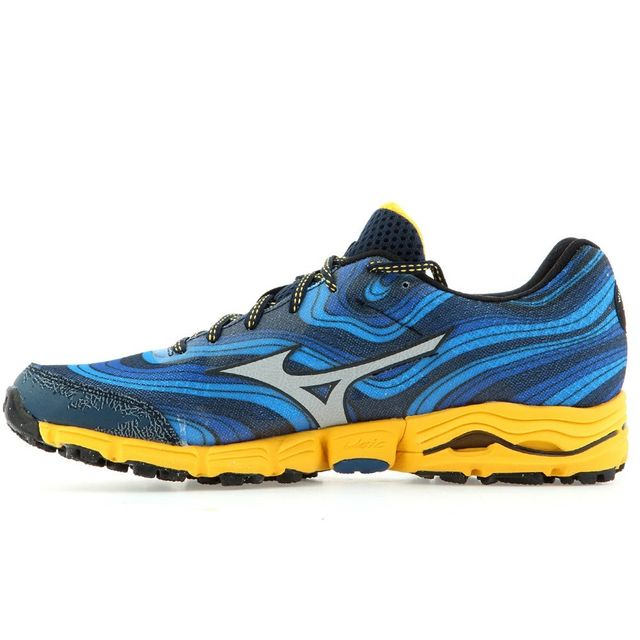 fce9f3cdd4e Mizuno - Wave Kazan - pas cher Achat   Vente Chaussures running -  RueDuCommerce