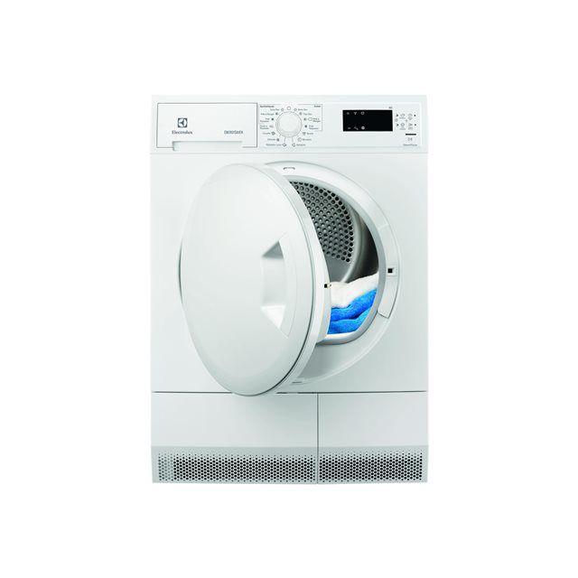 ELECTROLUX sèche linge à condenseur avec pompe à chaleur 60cm 8kg a+ blanc - edh3685pzw