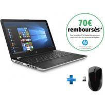 HP - 15-BS035NF - Argent + Souris sans fil X3000