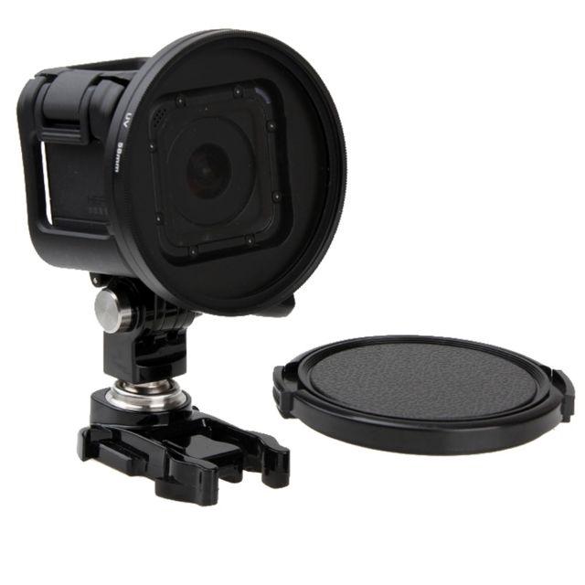 Wewoo - Filtre pour la session de GoPro Hero4 Uv rond de lentille de 58mm  avec fe3583df2c3a