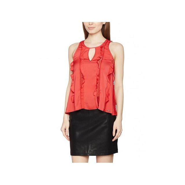 Guess - Top Femme Heike Rose - Taille - S - pas cher Achat   Vente ... 164f730e06d