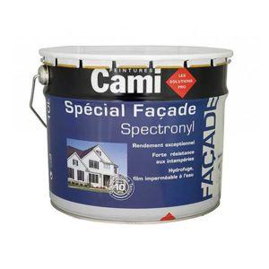 cami peinture fa ade spectronyl acrylique mat 10l ton pierre pas cher achat vente. Black Bedroom Furniture Sets. Home Design Ideas