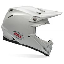 BELL - Moto-9 Carbon Flex Solid White