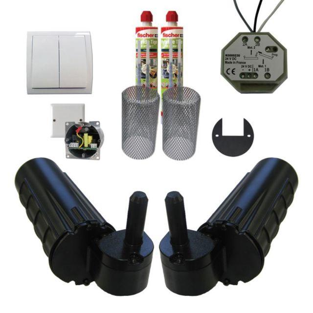 mantion smt pack motorisation pour volets 2 battants uranus filaire gond 14 plus 1 kit. Black Bedroom Furniture Sets. Home Design Ideas