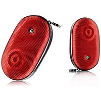 Sony Ericsson - Étui Haut-parleurs Mas-100 Rouge