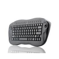 Auto-hightech - Clavier sans fil avec trackball - Qwerty, Pc + Mac