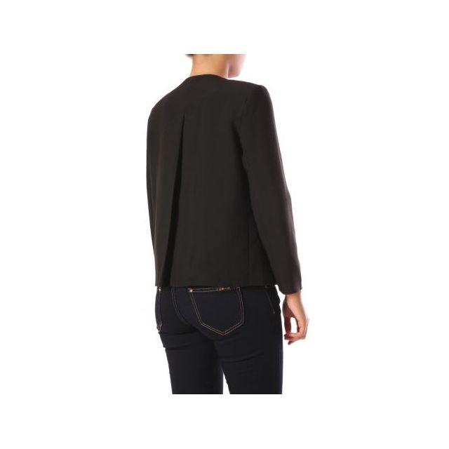 La Modeuse Veste paletot noir pas cher Achat Vente