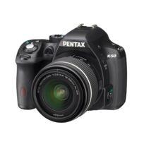 PENTAX - Reflex Numérique K50 - Objectif 18-55 mm - Noir