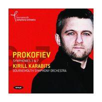 Onyx - Prokofiev / Symphonies No. 3 & 7