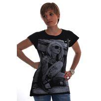 Spital Fields London - Tee shirt amsterdam coton noir