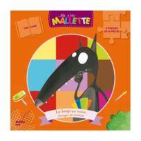 Editions Auzou - Puzzle 2x16 pièces : Le loup qui voulait changer de couleur