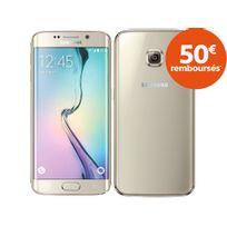 Samsung - Galaxy S6 Edge - 32Go - Or
