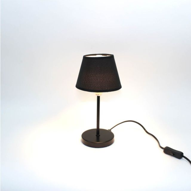 Meubletmoi Lampe De Chevet Noir Ideal Salon Chambre
