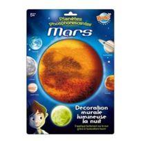 Bukifrance - Décoration murale planète lumineuse : Mars