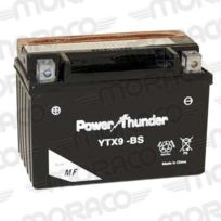 Power Thunder - Batterie Ytx9-BS Avec Acide