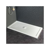 Receveur De Douche 80x160 Extra Plat Blanc A Poser Rectangulaire