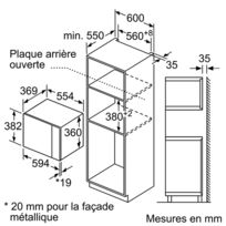 micro onde encastrable siemens inox achat micro onde encastrable siemens inox pas cher rue. Black Bedroom Furniture Sets. Home Design Ideas