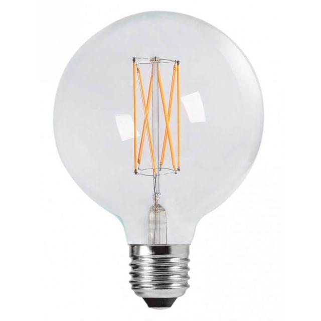 kosilum grande ampoule filament led e27 globe 12 5cm pas cher achat vente ampoules led. Black Bedroom Furniture Sets. Home Design Ideas