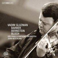 Bis - Leonard Bernstein | Ernest Bloch | Samuel Barber - Sérénade | Bal Shem, 3 images de Chassidic life | Concerto pour violon opus 14