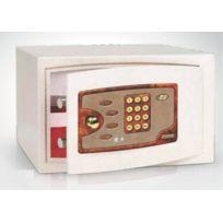 TECHNOMAX - Coffre-fort de sécurité à poser avec serrure-à-combinaison-électronique -728/EMP